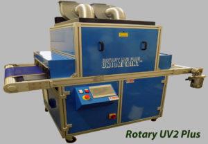 ROtary UV compact con 4 lampade UV